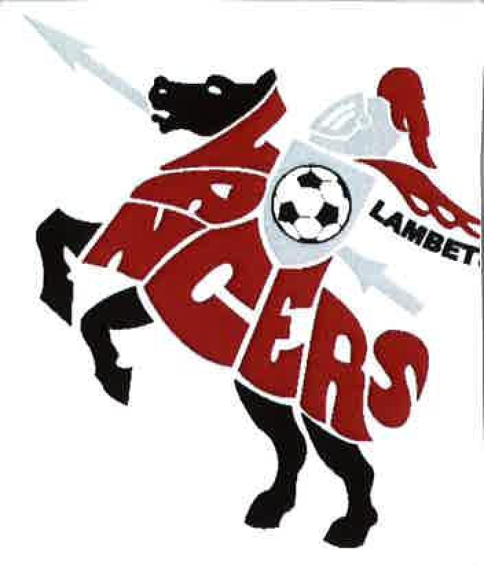 "Logo for Lambeth Lancers Jr. ""C"" Hockey Club"